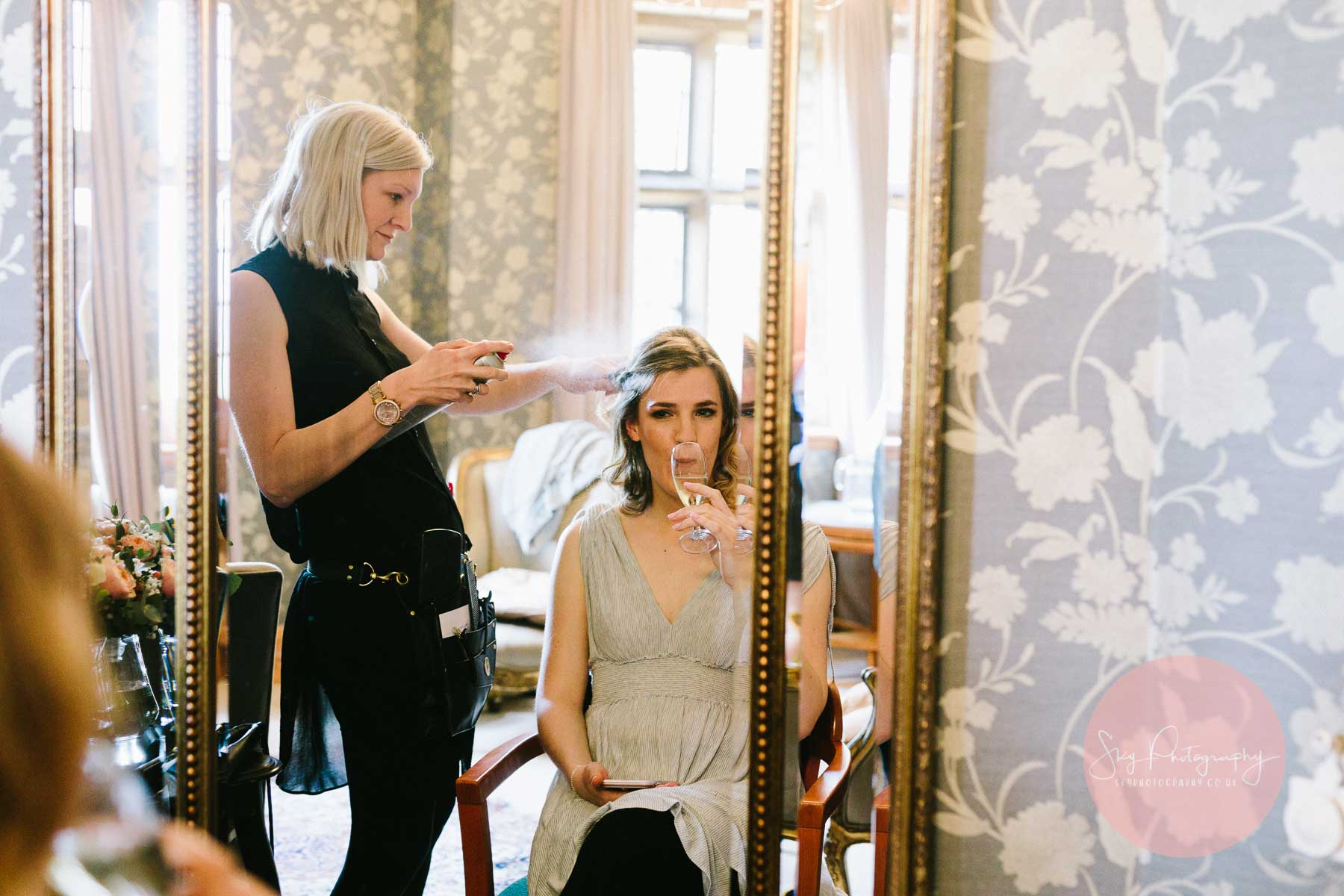 Bride Preparations at Plum park