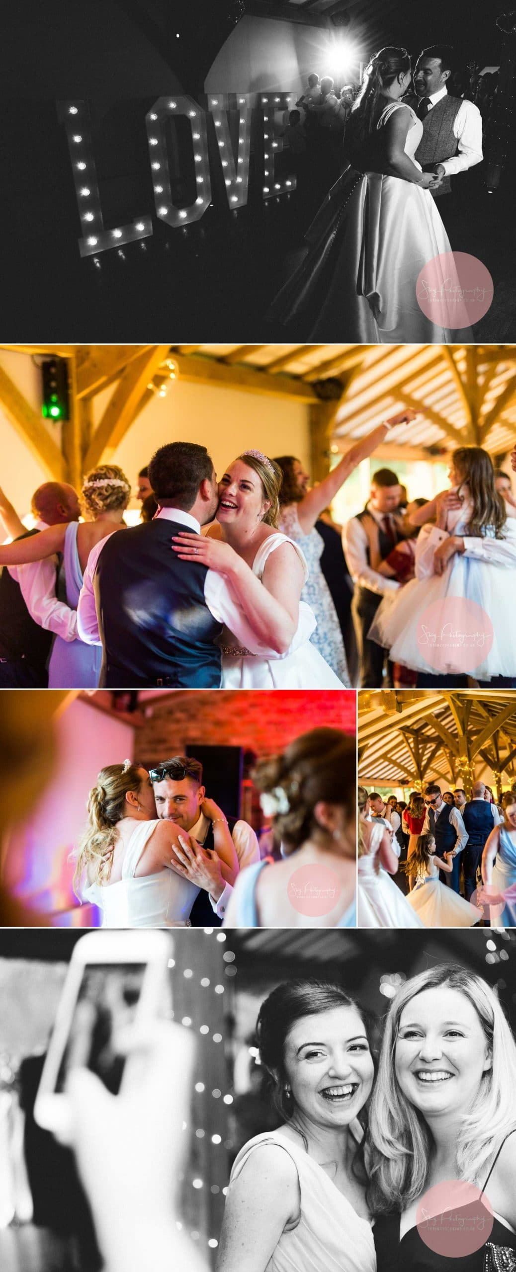 First Dane and evening photos at Dodford Manor