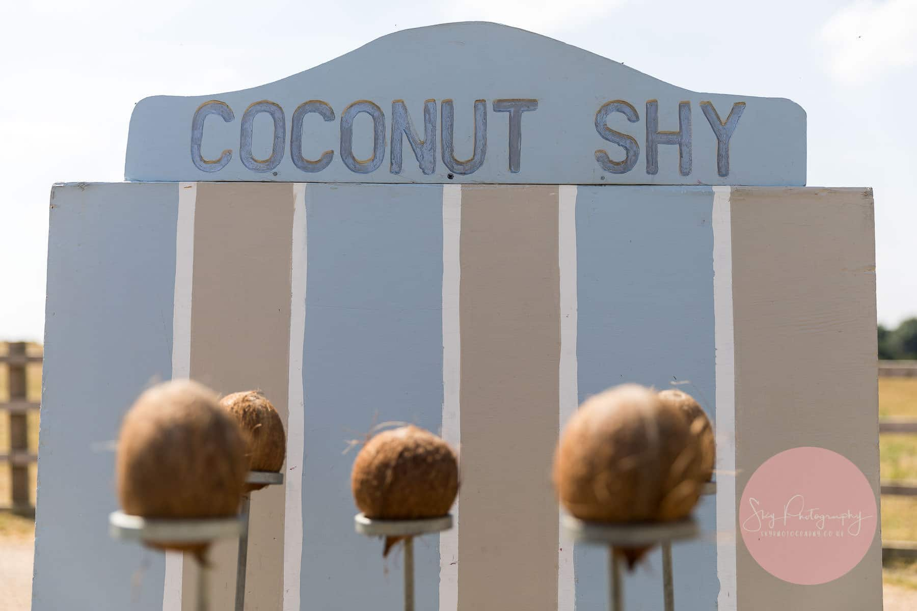 Coconut shy at dodford manor