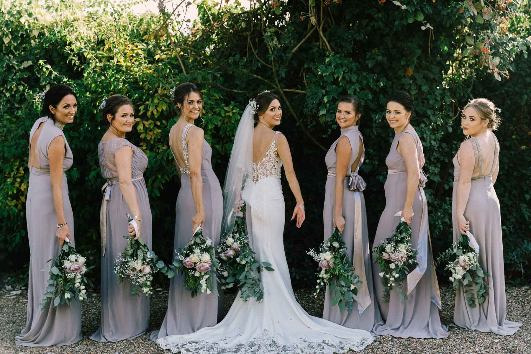 Bridesmaids looking gorgeous