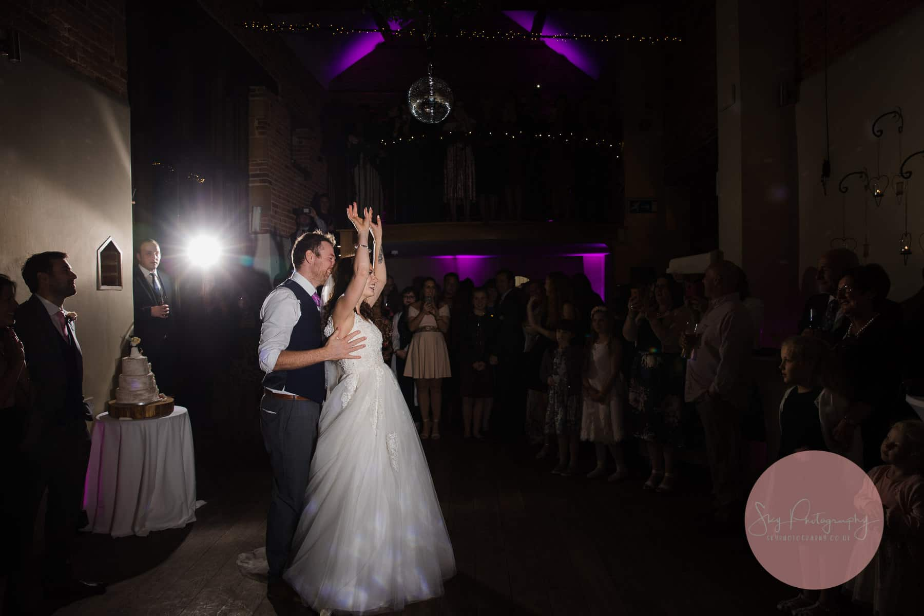 best first dance routine ever being performed by Bride and Groom