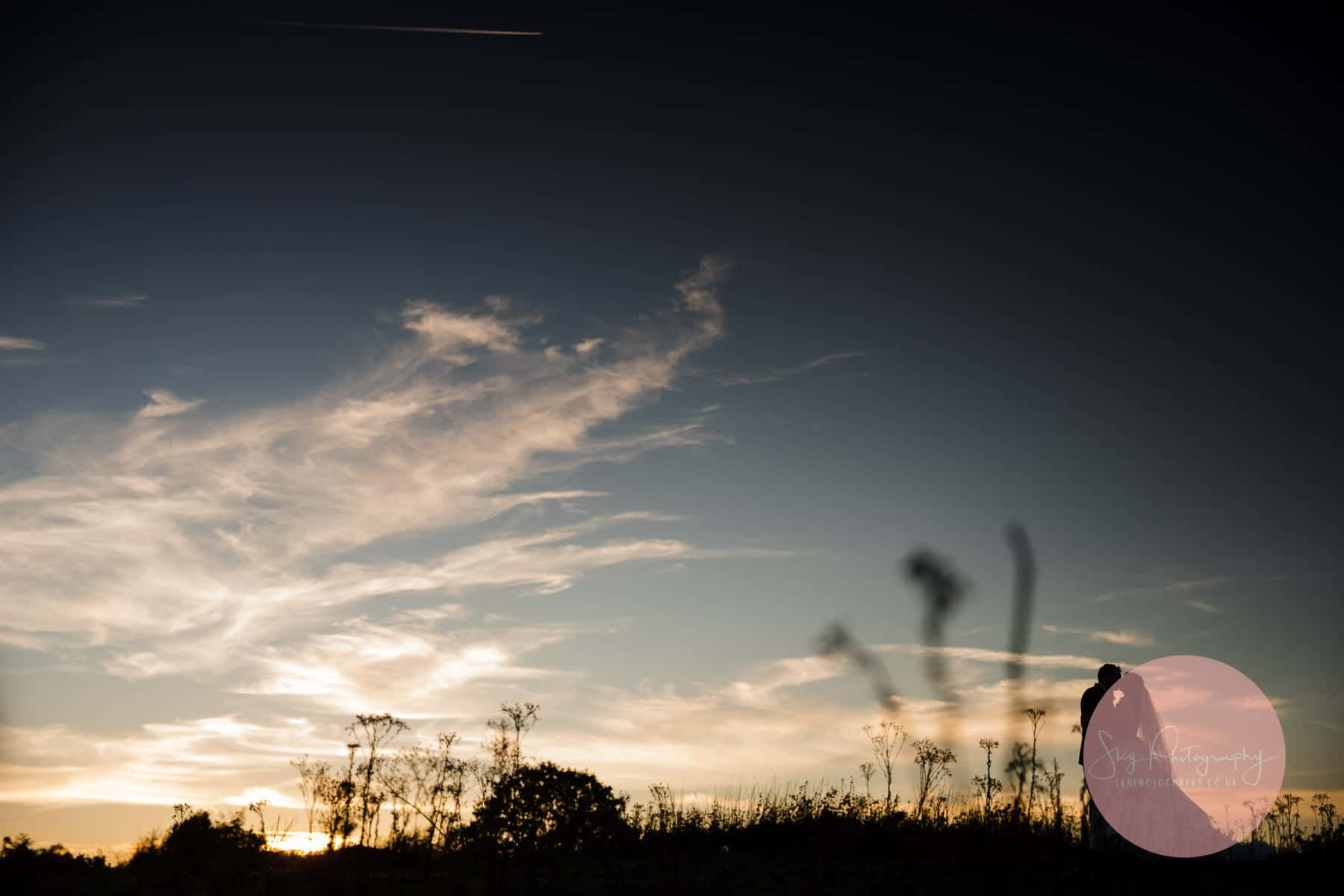 Photograph of a Sky Silhouette at dodmoor house