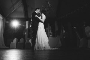 First dance of wedding couple