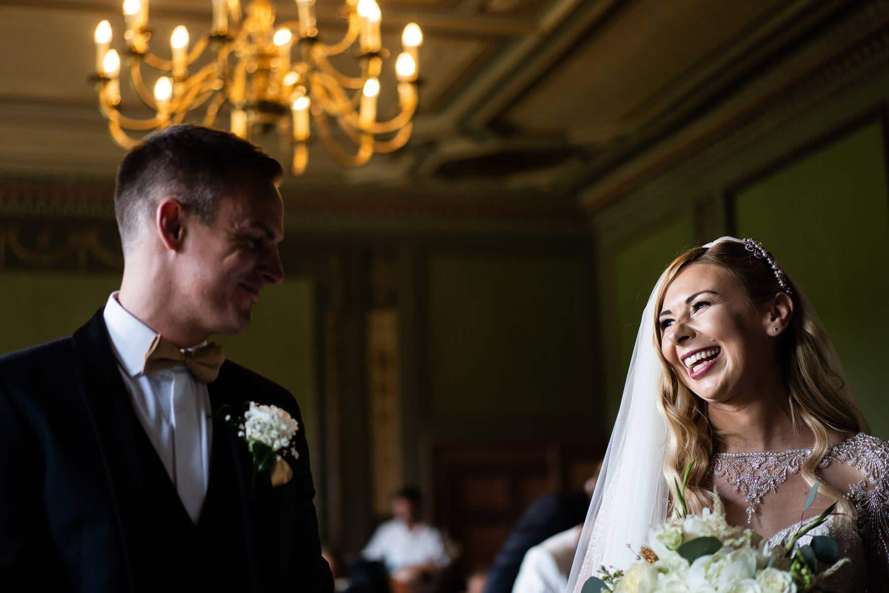 The beautiful Bouverie Room at Delapre abbey with stunning weddings