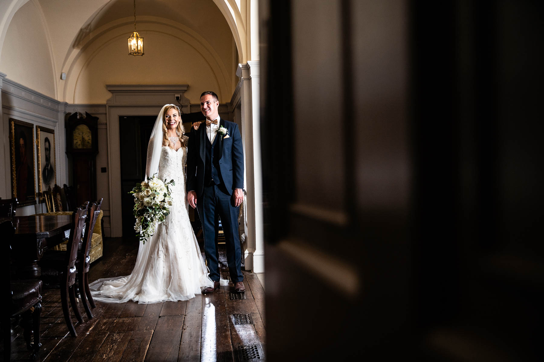 Beautiful wedding photos at Delapre Abbey