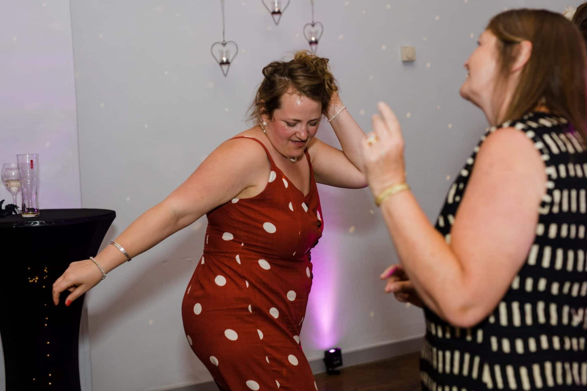 Dance floor action at Dodmoor House