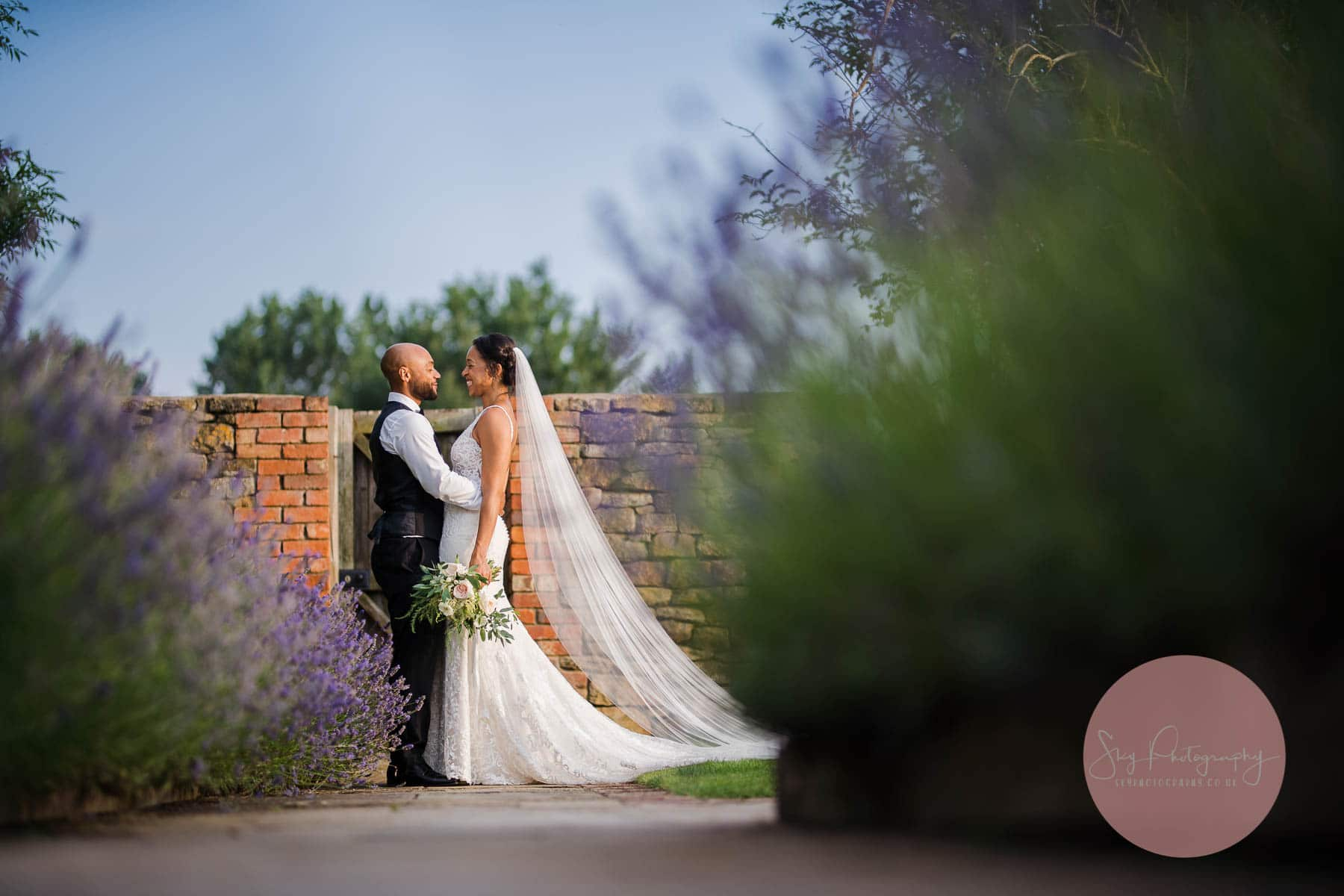 lavender portraits at Dodford manor