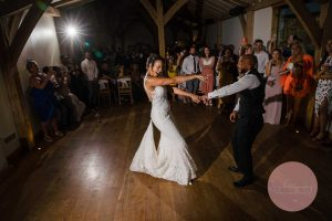 first dance in dodford manor barn