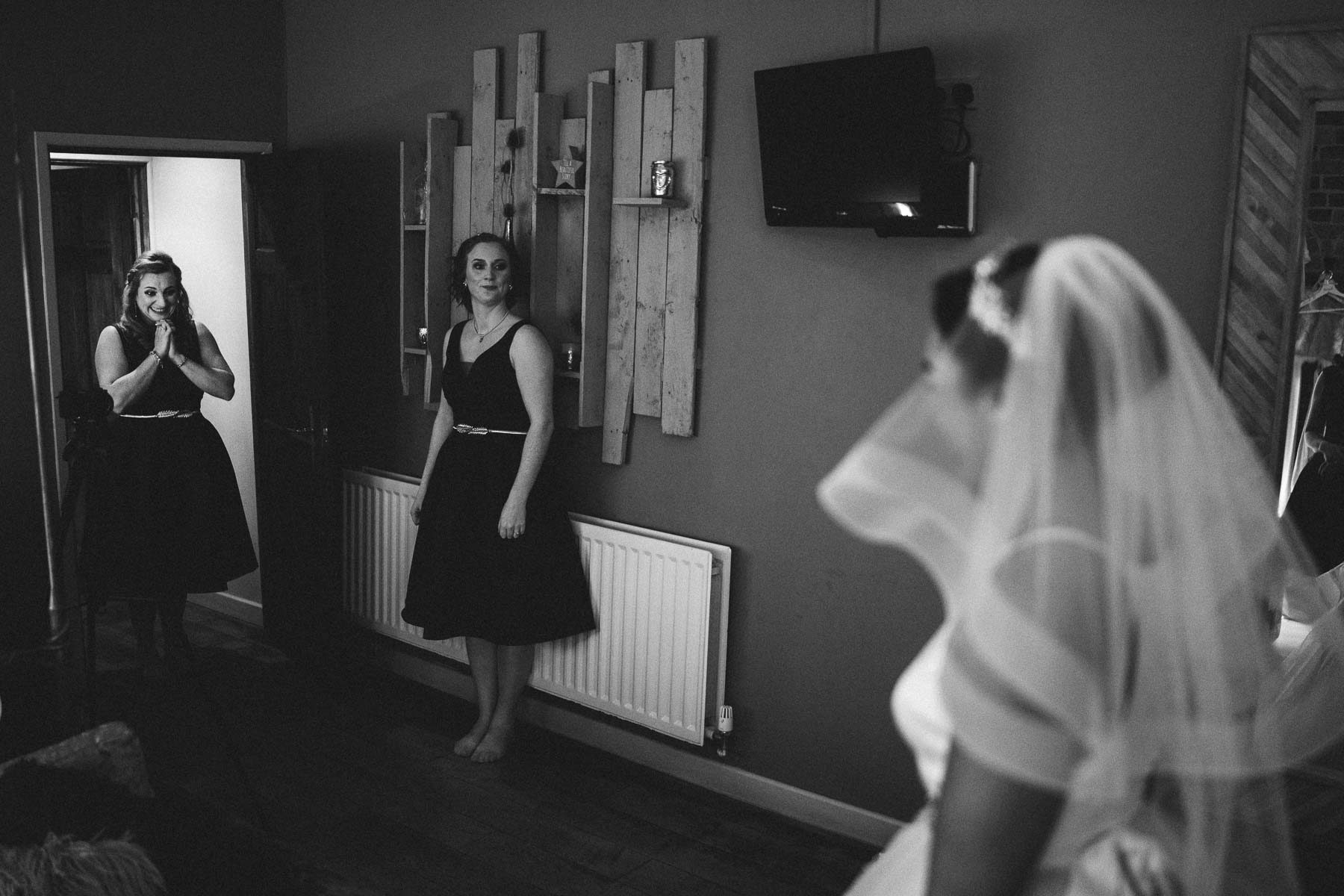 bride reveal at dodmoor house