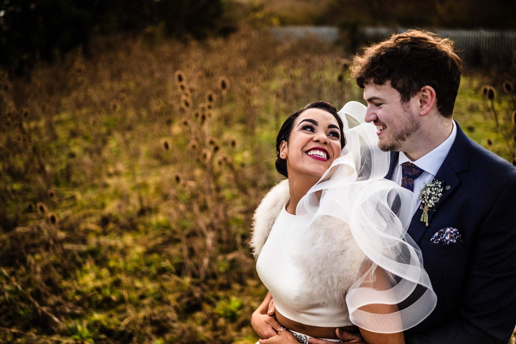 beautiful couple portraits in the field at dodmoor house