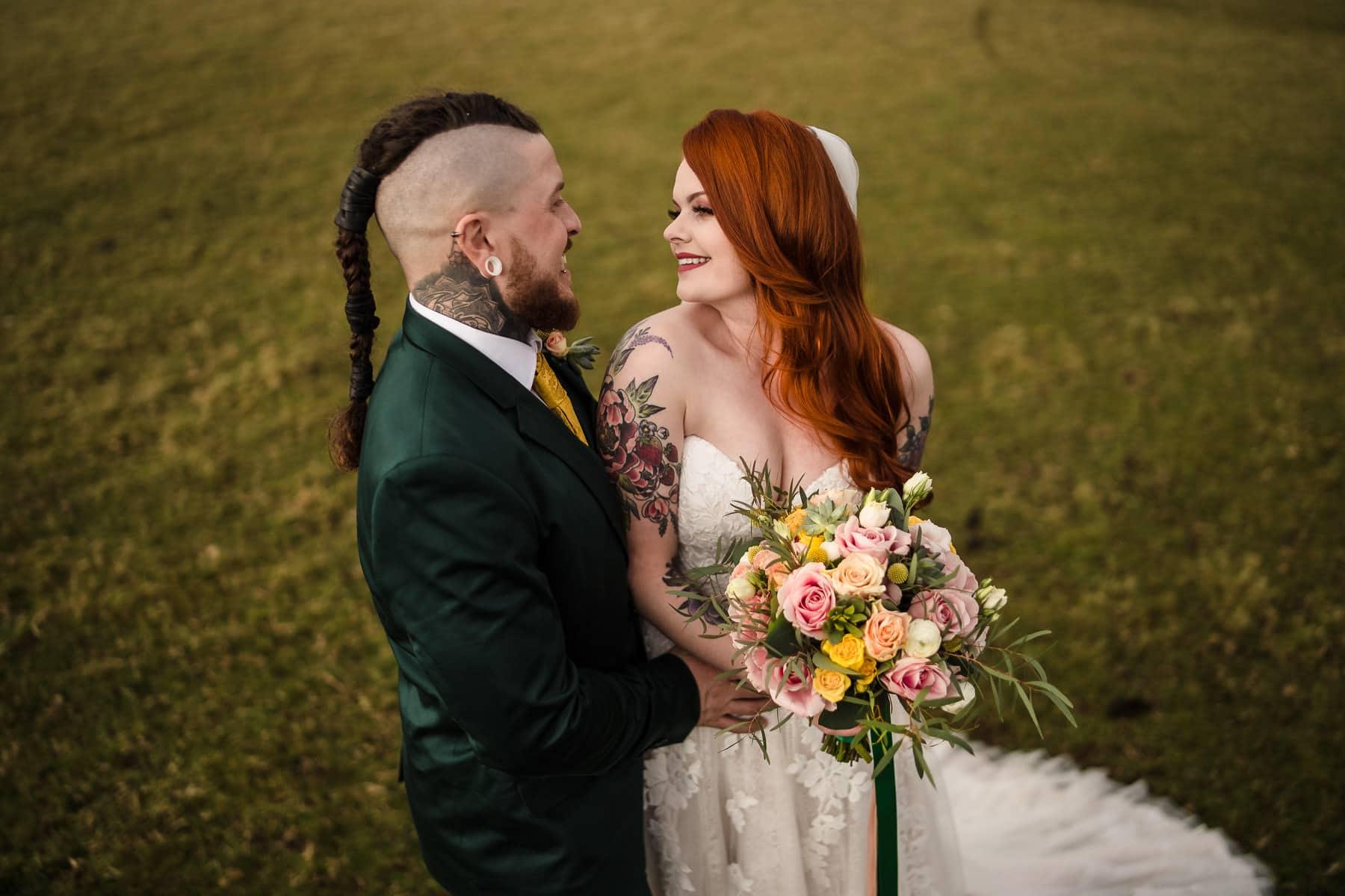 Viking Themed wedding photography