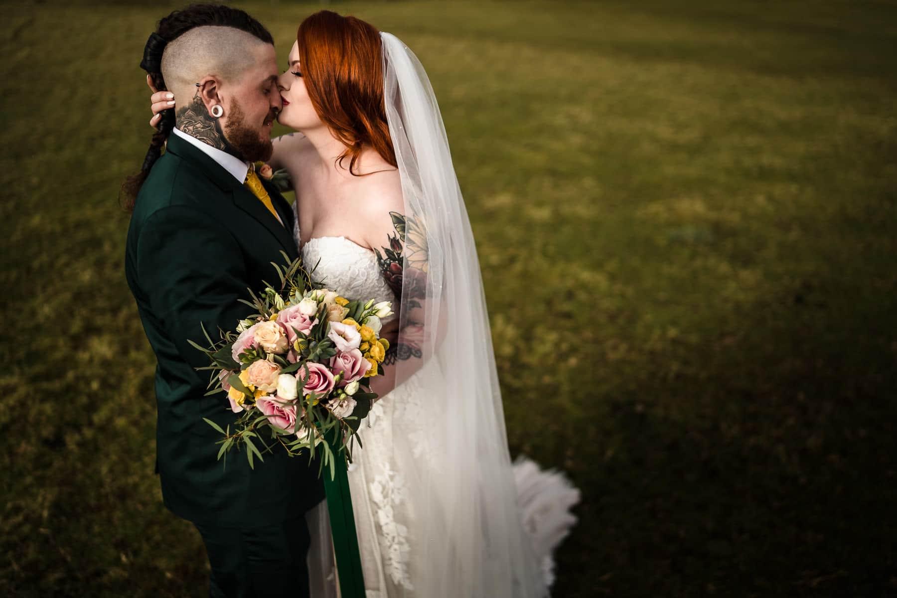 alternative wedding at Dodford Manor