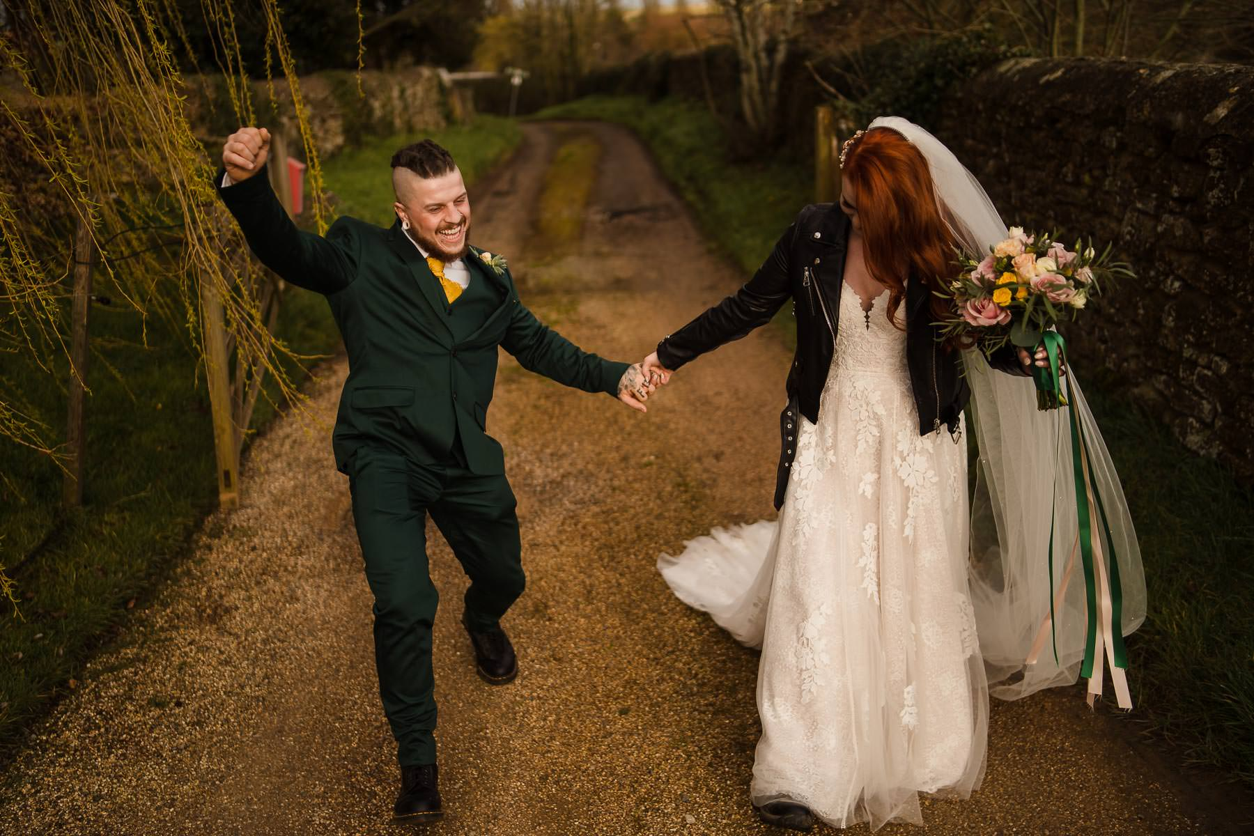Alternative Wedding Photographer at Dodford Manor
