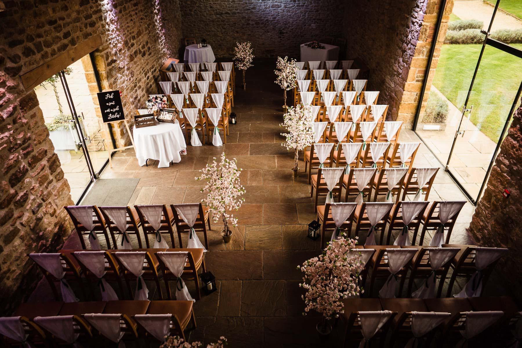 Wedding decor inspiration at dodford manor mortain barn