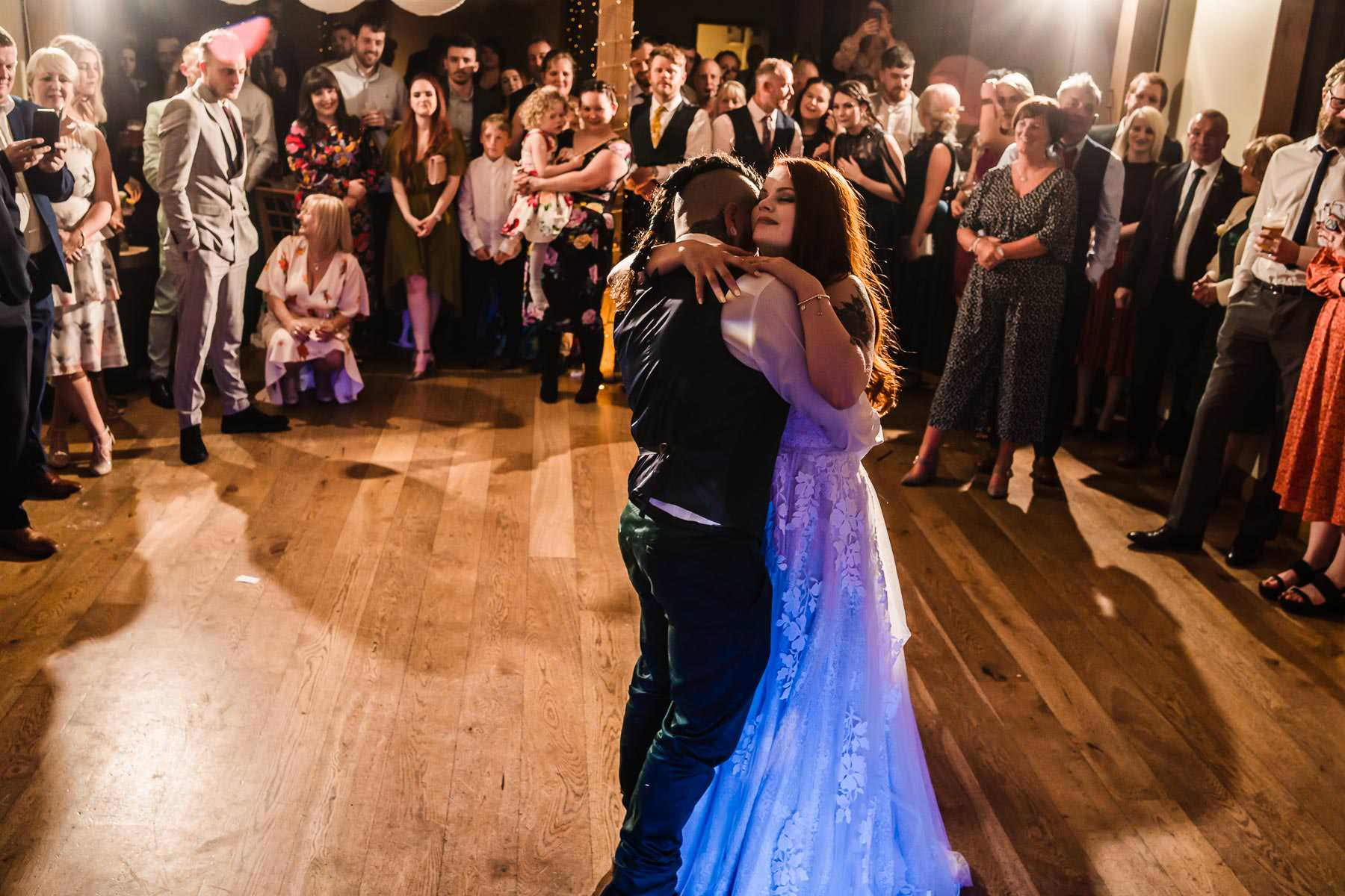 Viking Groom and Alternative Bride first dance