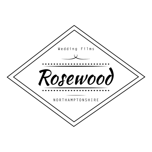 Logo of the best wedding videographer in northamptonshire Rosewood Films